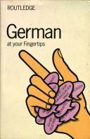 German at Your Fingertips by E. Baruch