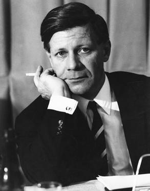 Photo of Helmut Schmidt