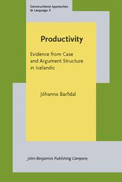Productivity by Jóhanna Barðdal